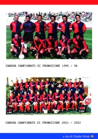 CANOSA. NAZIONALE DILETTANTI 1995 CAMPIONATO DI PROMOZIONE 2002