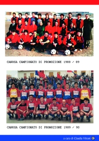 CAMPIONATO DI PROMOZIONE 1988/89 E 1989/90